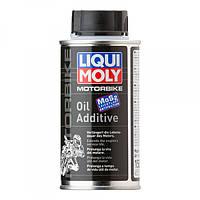 Присадка в двигатель мотоцикла Liqui Moly Motorbike Oil Additiv 0,125 л.