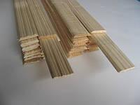 Планка притворная плоская 6х25 сосна (І сорт)