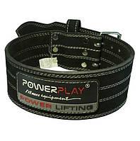 Пояс для пауэрлифтинга PowerPlay Black