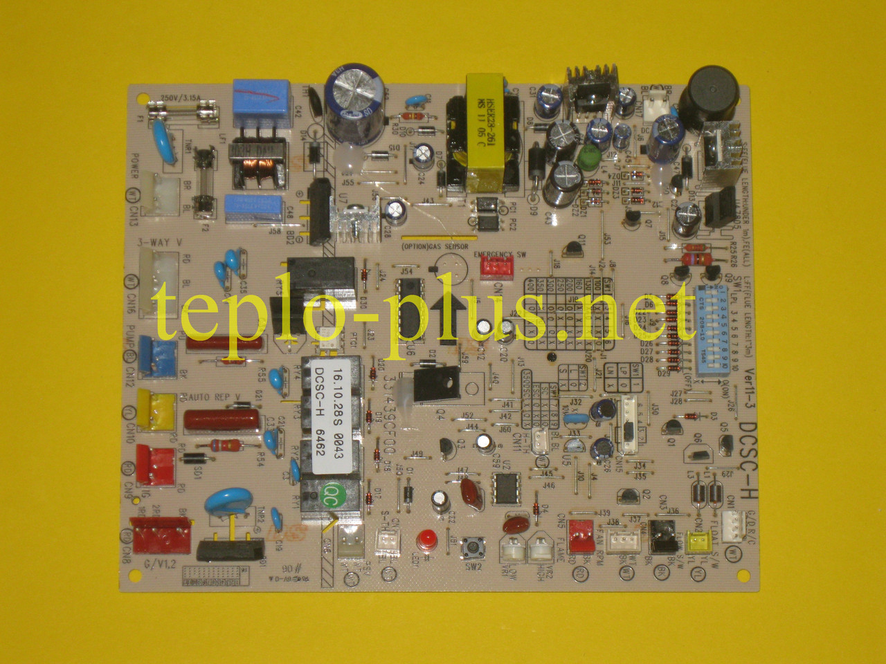 Блок (плата) управления DCSС-H VER 11-3 331439CH00 Daewoo Gasboiler DGB-130, 160, 200, 250, 300, 350 MSC/MES