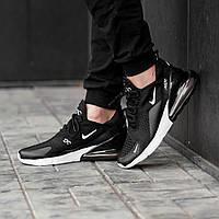 Мужские кроссовки Nike Air Max 270 \ Найк Аир Макс 270 Черные \ Чоловічі кросівки Найк Аір Макс 270 Чорні