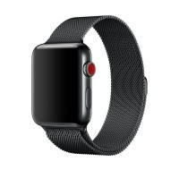 Ремешок URVOI Milanese Loop Black для Apple Watch 42mm/44mm Series 1/2/3/4