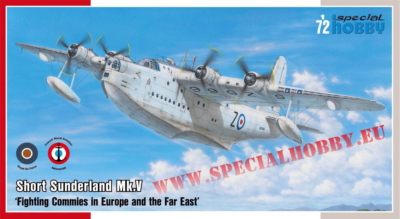 Сборная модель самолета Short Sunderland Mk.V. 1/72 SPECIAL HOBBY 72162