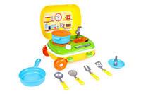 Іграшка Кухня з набором посуду у валізі Технок 6078, фото 1