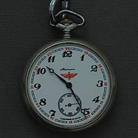 Молния Локомотив карманные часы СССР , фото 1