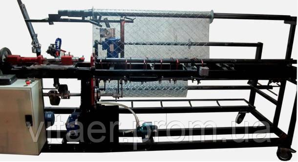 Станок автомат для сетки рабицы СА-2х2 с двухсторонней загибкой края сетки - Vitaer в Виннице