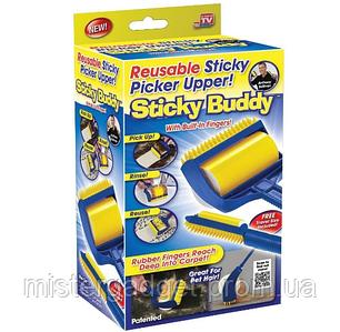 Валик липкий для прибирання Sticky Buddy