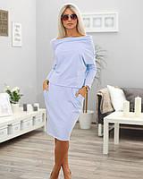 Плаття Styllo M669 One-Size Голубий M669-7 fafd10975dc41
