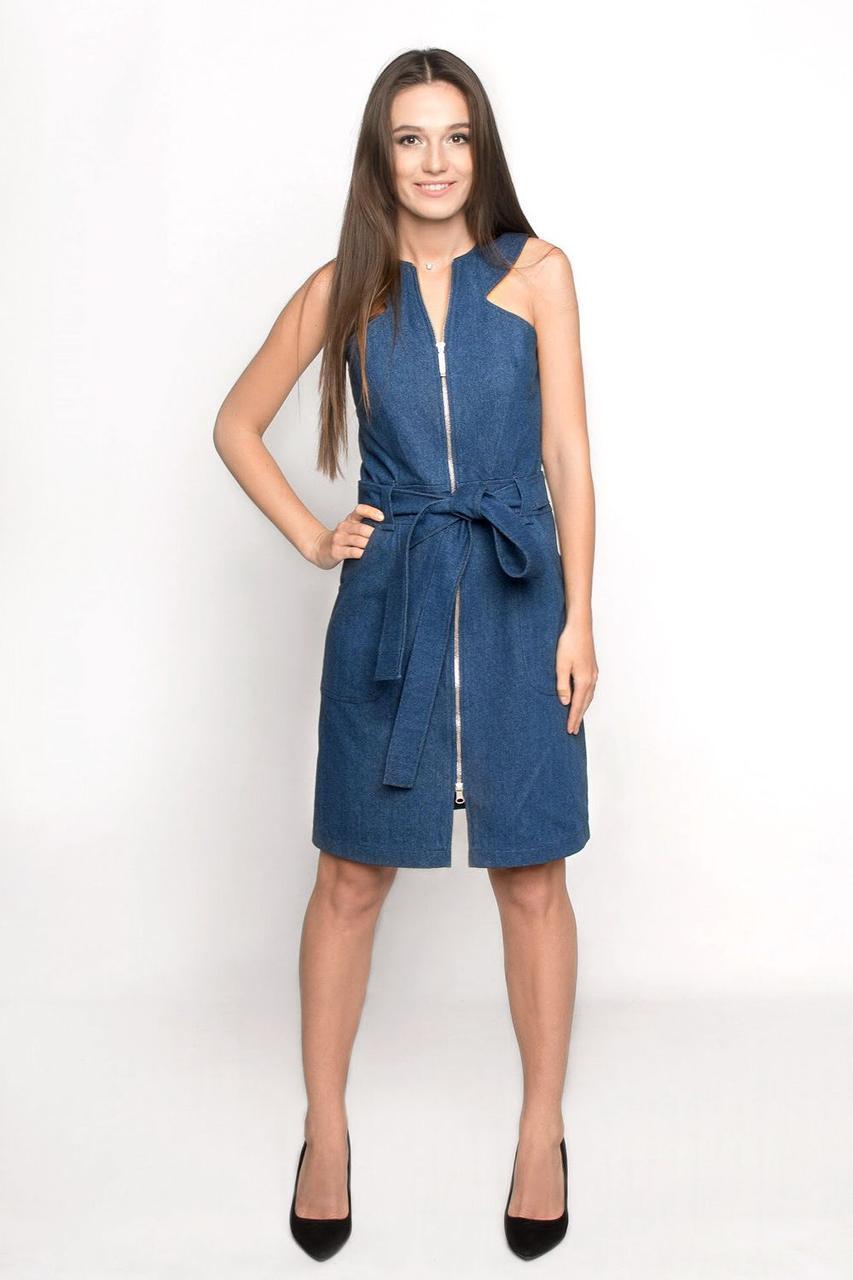 ea919f7bf550dfa Джинсовое платье Ganveri L Синие 4007, КОД: 305860 - Интернет-каталог  скидок