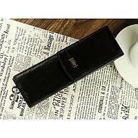 Кожаный футляр для ручек черный BPL 029