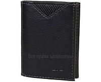 Мужской кошелек тройного сложения из натуральной кожи MD-Leather