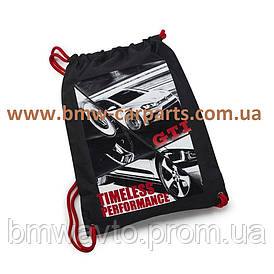 Тренировочная сумка-рюкзак Volkswagen GTI Sport Bag, Black