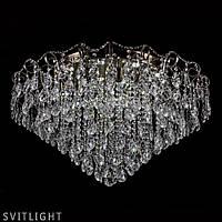 Люстра хрустальная потолочная на 15 лампочек P5-L0245/15+15/AB Svitlight