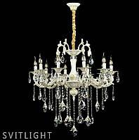 Классическая люстра свечи на десять лампочек L77498/10 (LGWT) SR Svitlight, фото 1