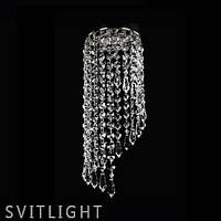 Точечный светильник встраиваемый SPOT 06 NICKEL CE Artglass