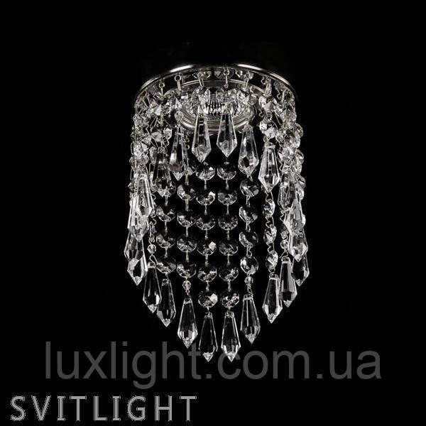 Точечный светильник встраиваемый SPOT 04 CE nikl Artglass