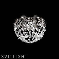 Точечный светильник встраиваемый SPOT 08 CE nikl Artglass