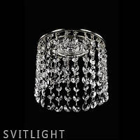 Точечный светильник встраиваемый SPOT 09 CE nikl Artglass