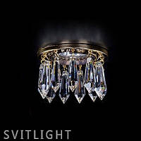 Точечный светильник хрустальный встраиваемый SPOT 81 CE Artglass
