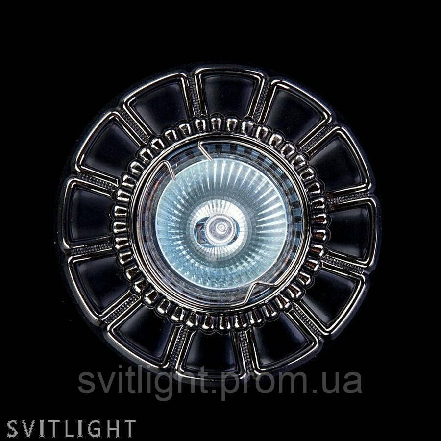 Точечный светильник встраиваемый SPOT 51 NICKEL ANTIQUE Artglass