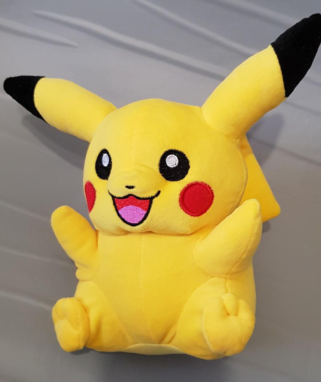 Пикачу игрушка Покемон мягкая игрушка 40 см к фильму Покемон. Детектив Пикачу