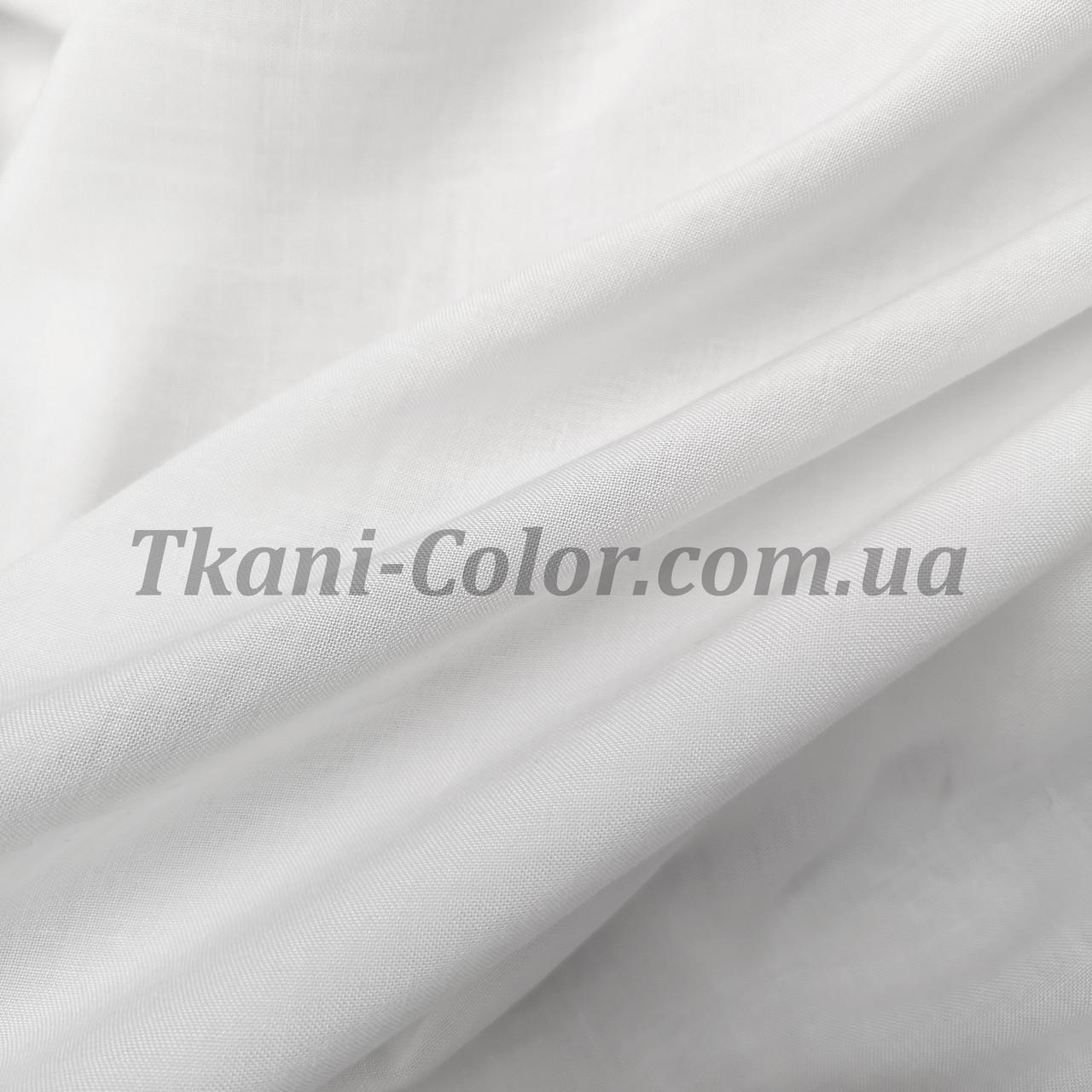 Тканина штапель білий