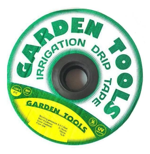 Крапельна стрічка лабіринтового типу Garden Tools D16х0,15 крок 15см 300м