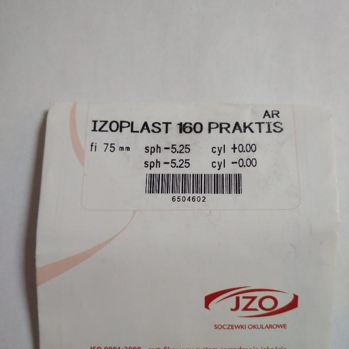 Оптическая  линза IZO Praktis 1.6