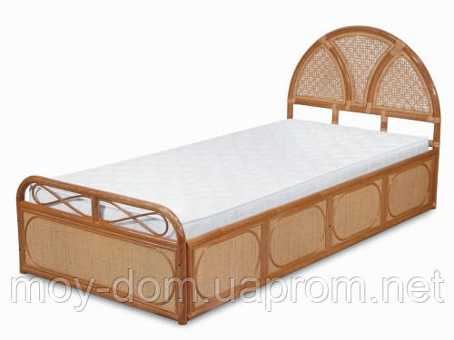 Ротанговая  кровать 1105