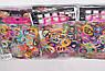 Резинки для плетения браслетов Разноцветные, фото 2