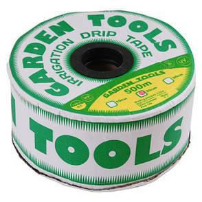 Капельная лента лабиринтного типа Garden Tools D16х0,15 шаг 20см 500м, фото 2