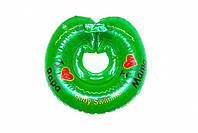"Круг для купания  Baby swimmer Зеленый Серия ""Я люблю"" 6-36кг, фото 1"
