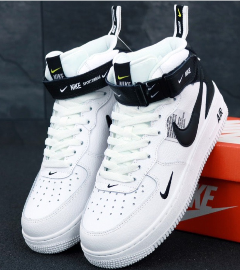Мужские кроссовки Nike Air Force 1 Mid 07 LV8 Utility White
