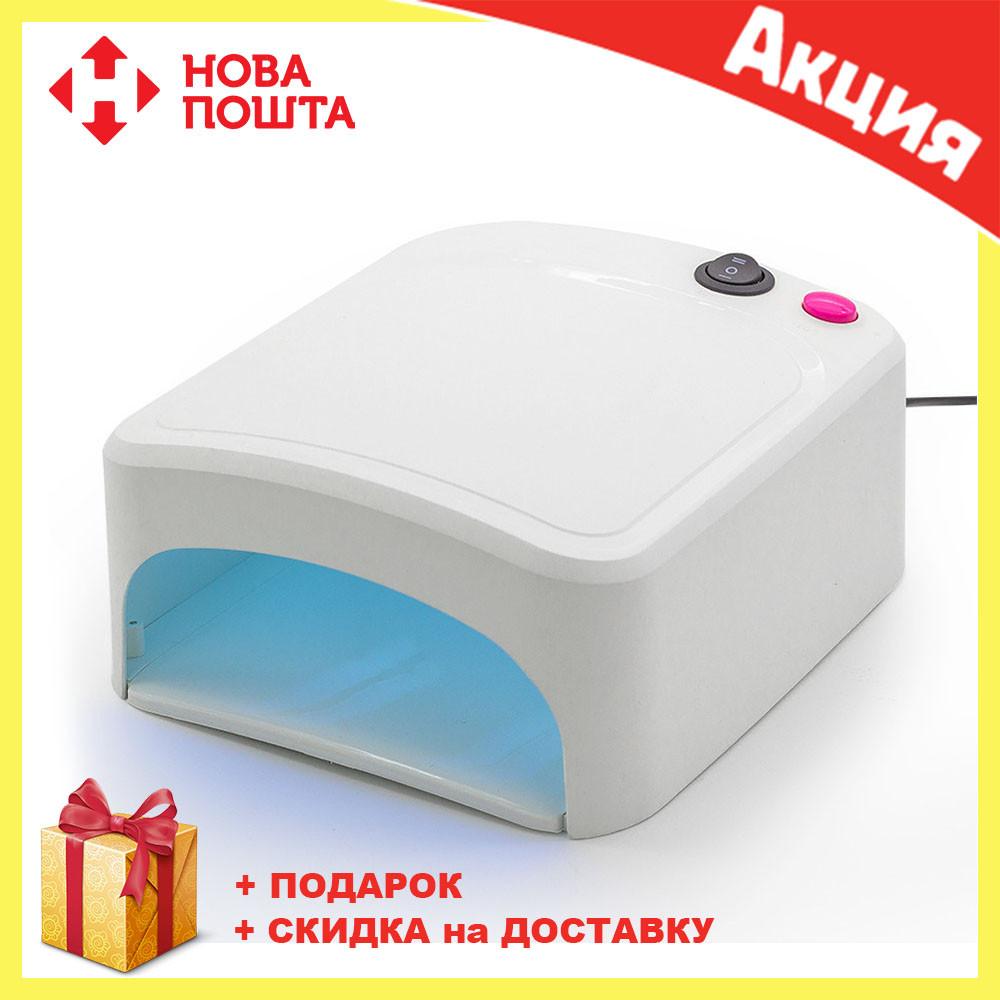 Уфо LED лампа для сушки ногтей Beauty nail lamp ZH818A | сушилка для ногтей