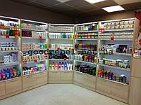Торговое оборудование для бытовой химии, стеллажи для косметики. ТО-123