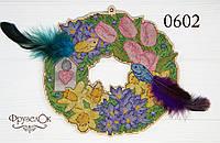 """Набір для вишивання хрестиком на дерев'яній основі """"Весняний"""", фото 1"""