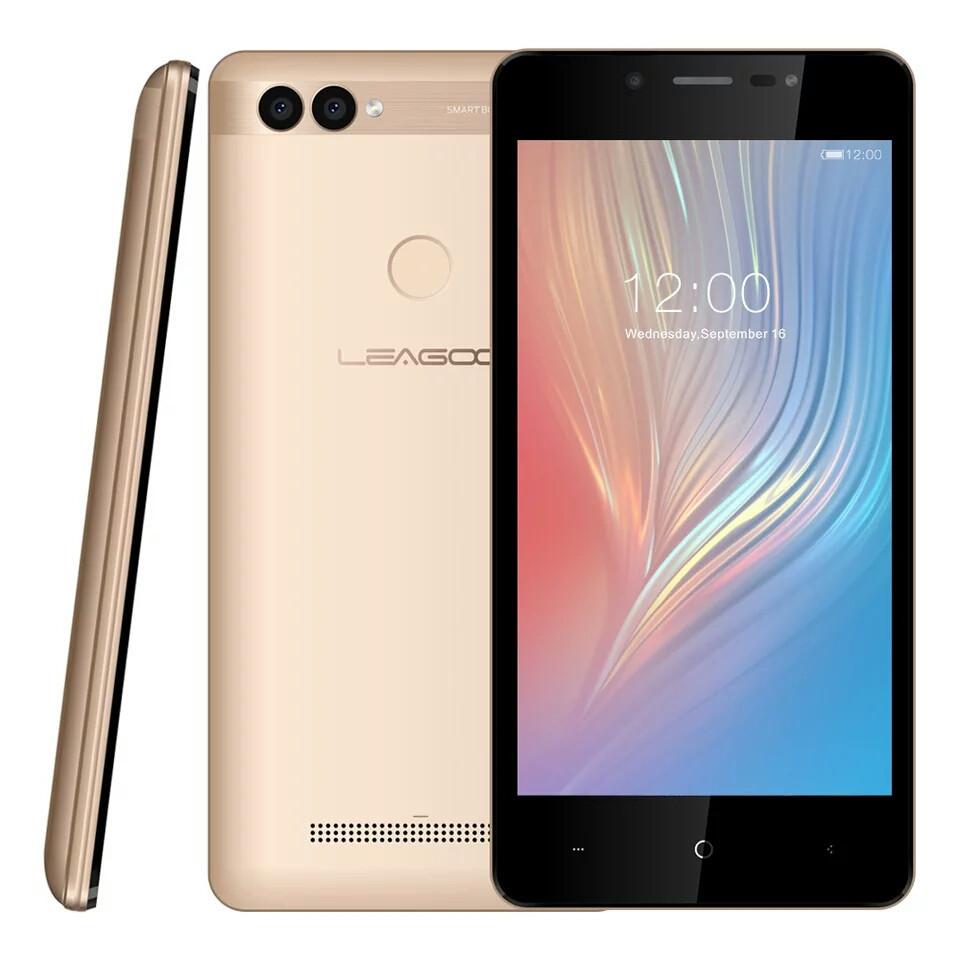 "Смартфон Leagoo Power 2 Gold And 8.1 , 5"" 2/16Gb 3200mAh + чехол"