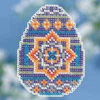 Набор для вышивки крестиком и бисером Medallion Egg Mill Hill
