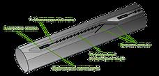 Крапельна стрічка лабіринтова Labyrinth D16х0,20 крок 45см 1000м, фото 3