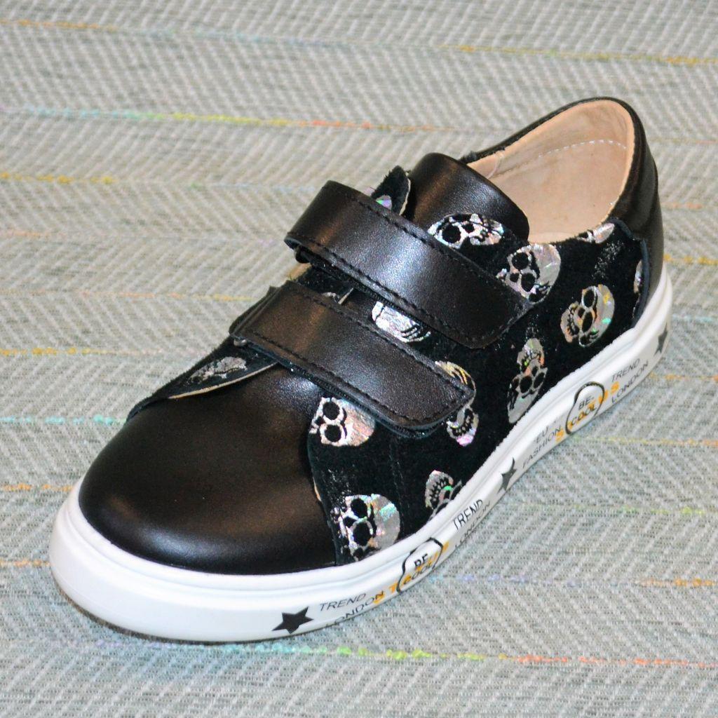 Дитячі туфлі, черепа, N-Style розмір 32 34