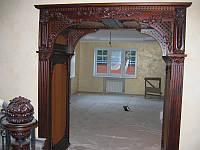 Деревянные дверные проемы, арки, фрезы и наличники, фото 1