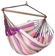 Туристический стул-гамак La Siesta Domingo DOL21-7, розовый