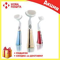 Ультразвуковая щетка для умывания и чистки лица Pobling face cleaner, фото 1