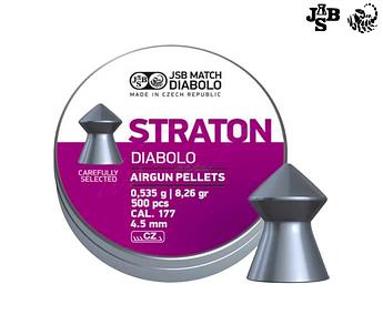 Пули пневматические JSB Diabolo Straton 4.5мм 0.535г 500шт