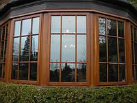 Элитные деревянные окна, фото 1