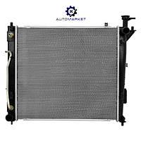 Радиатор (охлаждения двигателя) основной Hyundai Santa Fe III 2012-2015, фото 1