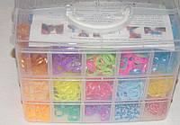 Набор резиночек для плетения браслетов в сундуке 10000 шт.