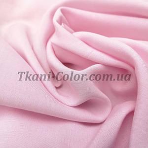 Тканина штапель світло-рожевий