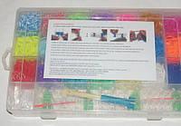 Набор для детского творчества - резиночки для браслетов 4200 шт.