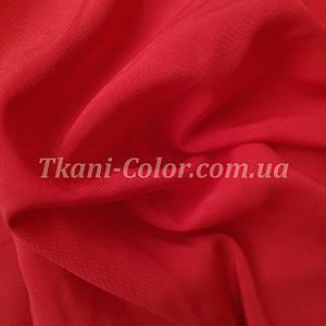 Тканина штапель червоний
